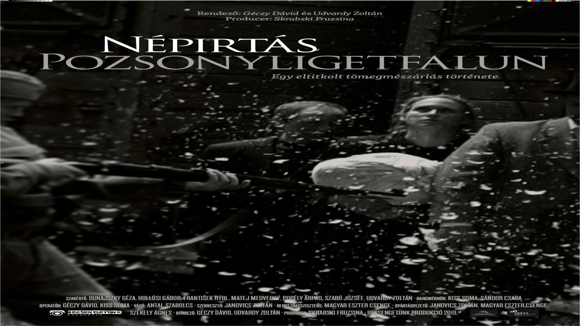 GENOCIDE IN POZSONYLIGETFALU/PETRZALKA     (to play film click circle button to the right. To add to watchlist, click + button below it)